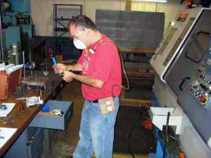 Personnel Monitoring Exposure monitoring and PPE review for metals machining client.